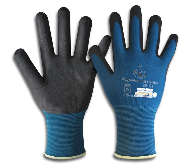Montage-Feinstrick-Handschuh Cygnofoam Dura Flex