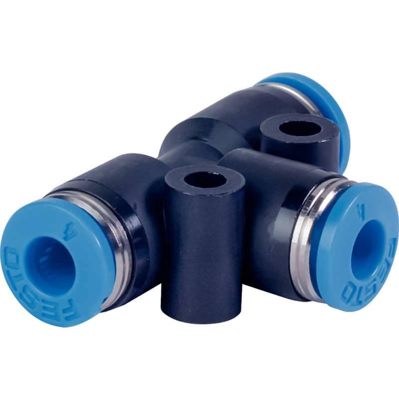 T-Schnellsteckverbinder für Pneumatikschlauch 4mm