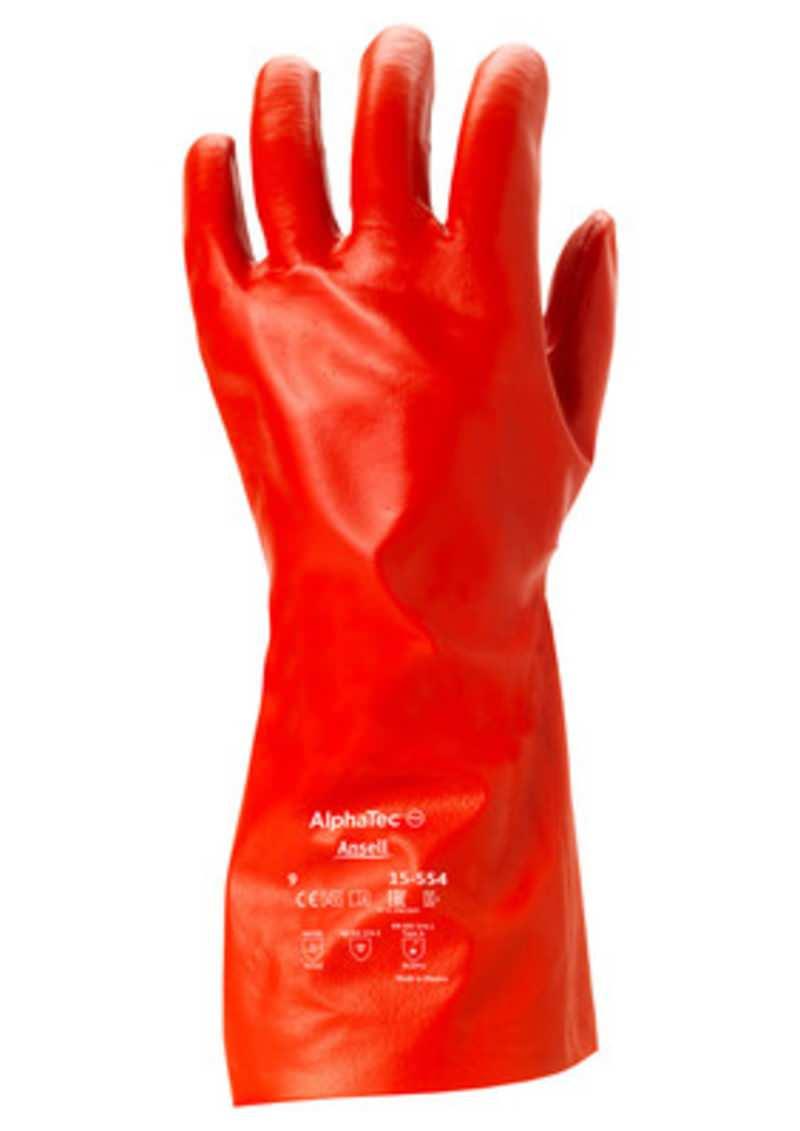 Chemikalien-Schutzhandschuh AlphaTec® 15-554 Größe 9