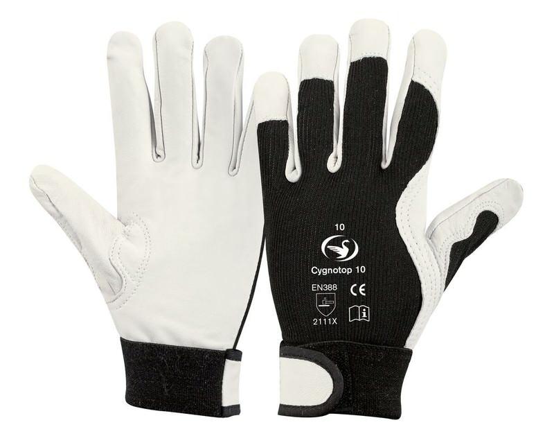 Ziegennappaleder-Handschuh Cygnotop 10