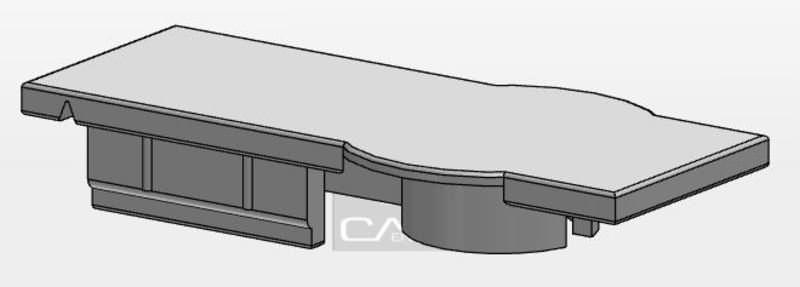 MCS Flexi-Verbinder Endabdeckung