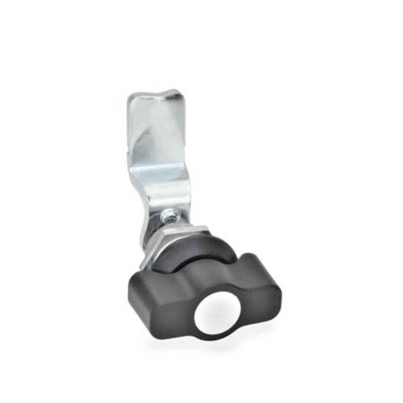 Dreh-Spannriegel, Betätigung mit Knebel, Zink Druckguss / Stahl