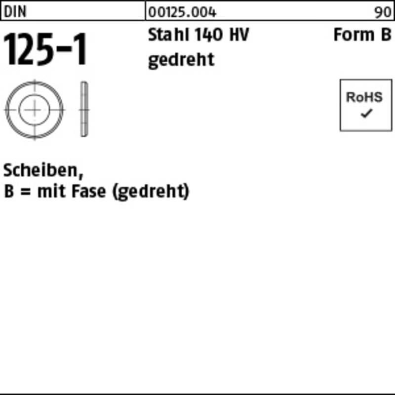 Scheiben, mit Fase (100 St.)