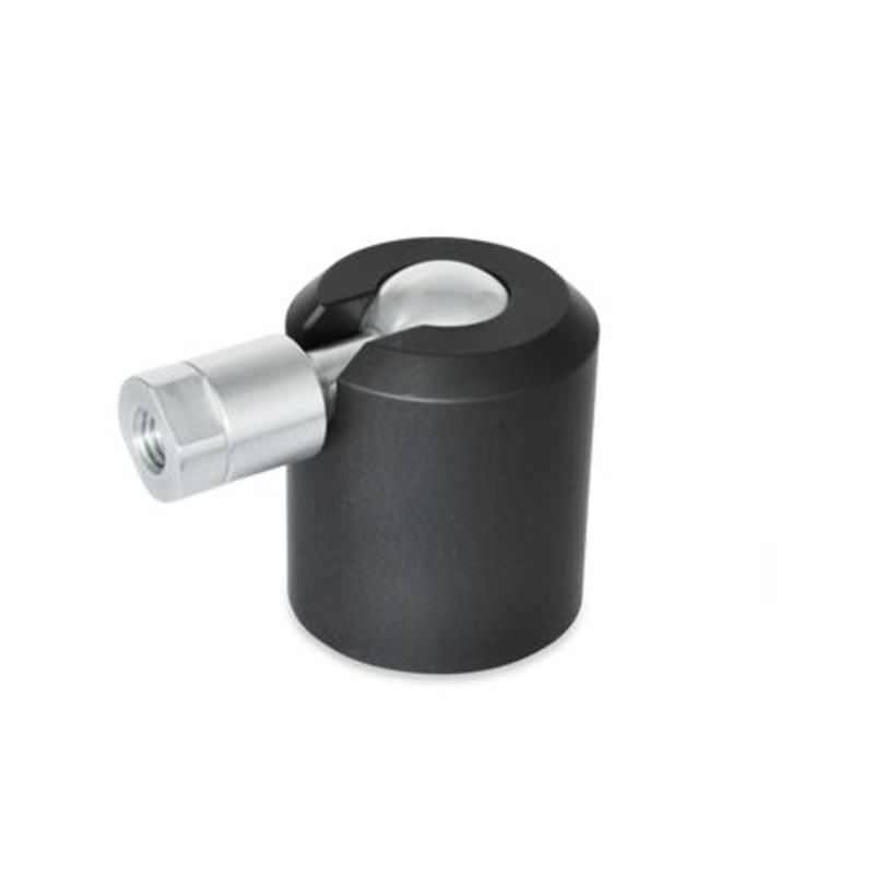 Kugelgelenke, Kugel mit Innengewinde, Aluminium