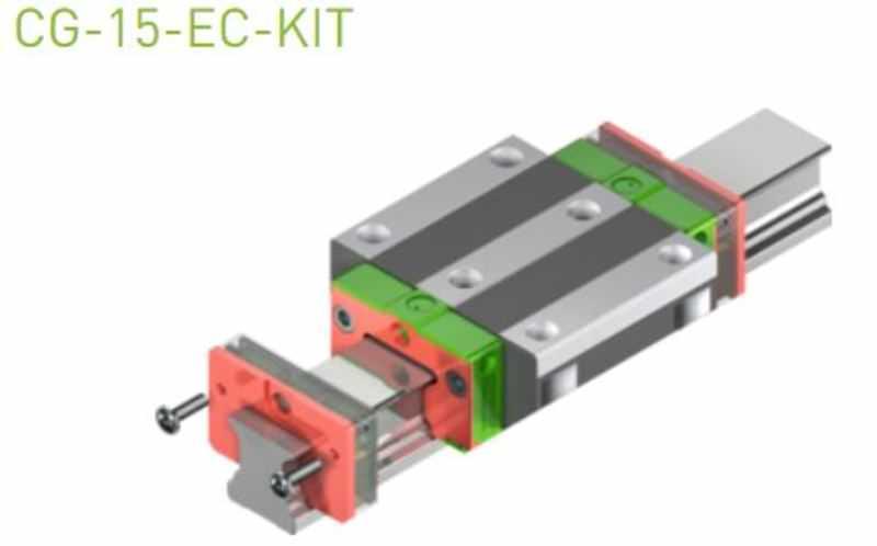 EC-Set für 15er Laufwagen SS/SW ohne Abdeckband & Standard-Öl
