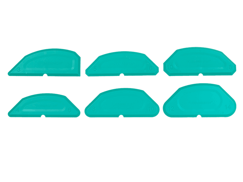KAWO Glättspachtel-Set