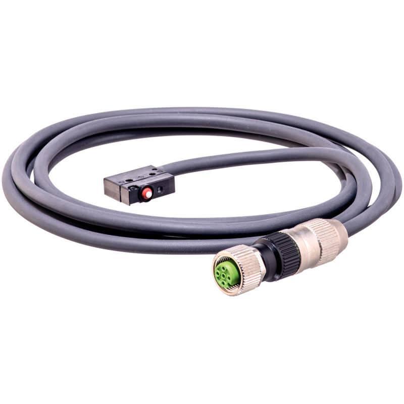 Sensor mit Stecker und Silikon-Kabel