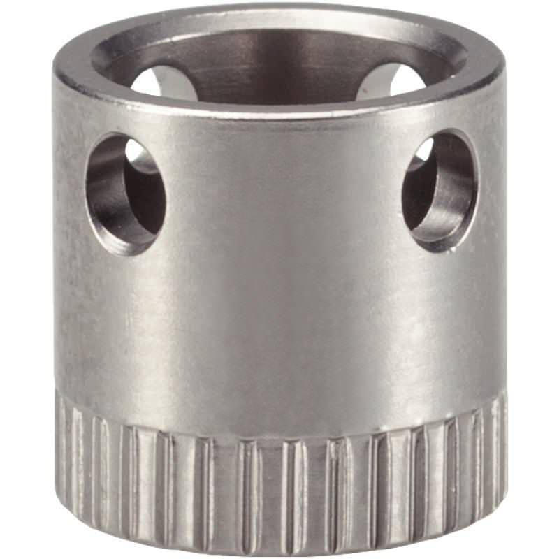 Kugelverbinder-Buchse d=9,5, selbstsichernd, Montage in Holz