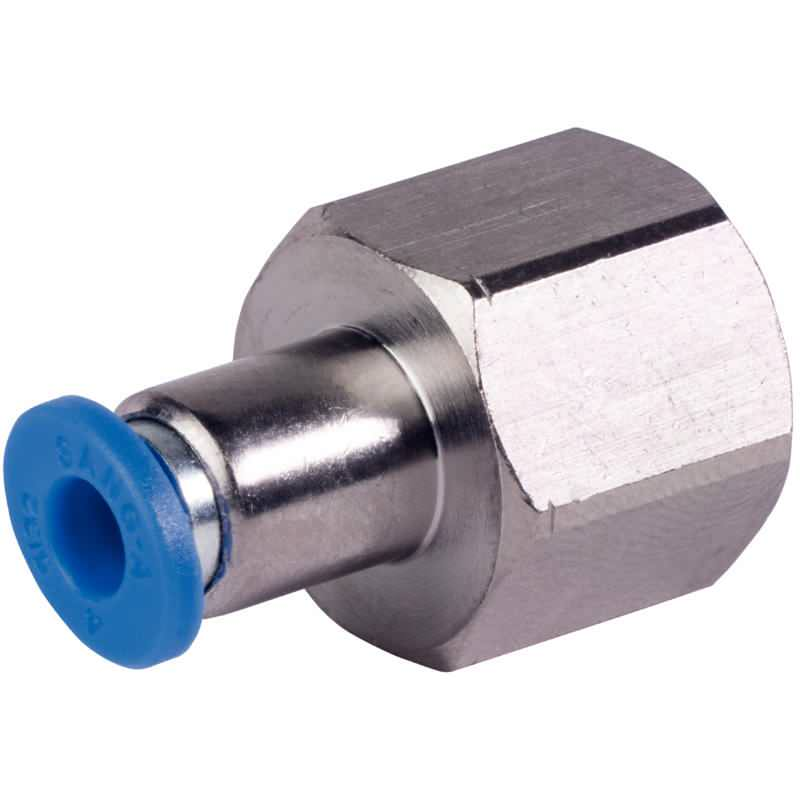 Verbindungsstück zum Verbinden von Druckregler und Pneumatikschlauch