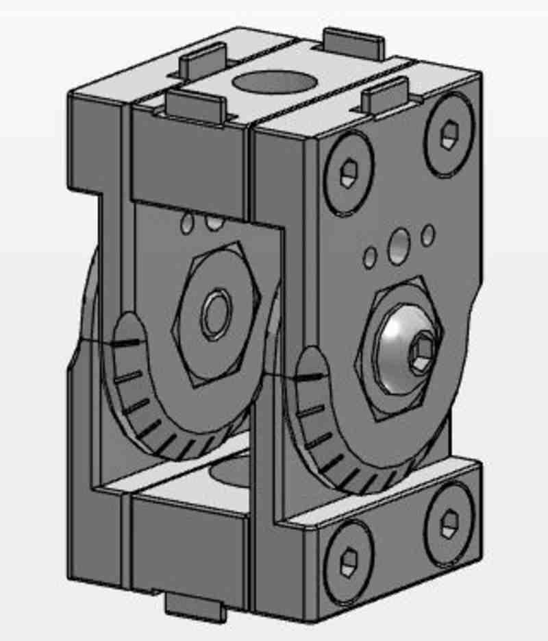 MCS Scharnier Set 45x45