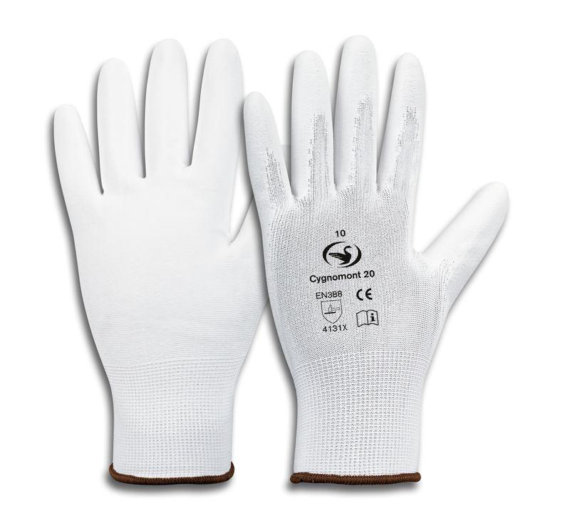 Montage-Feinstrick-Handschuh Cygnomont 20