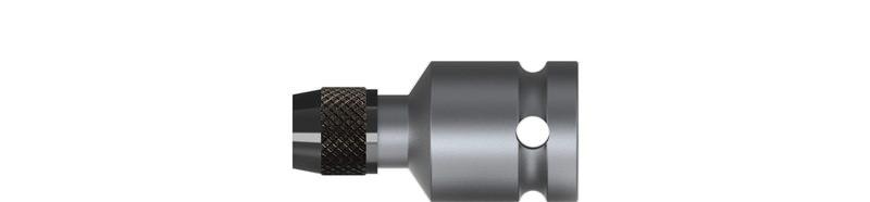 Wiha Verbindungsteil mit Schnellwechselhalter Außensechskant, Außenvierkant Form G 12,5