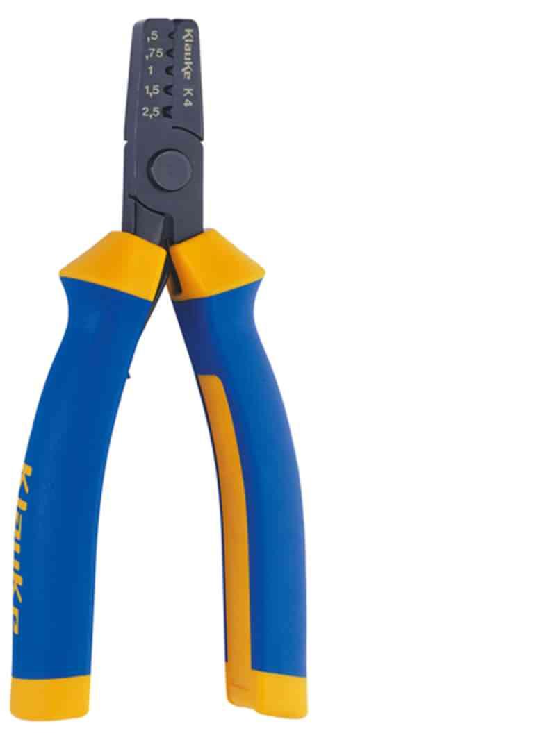 Presswerkzeug für Aderendhülsen 0,5-2,5mm²