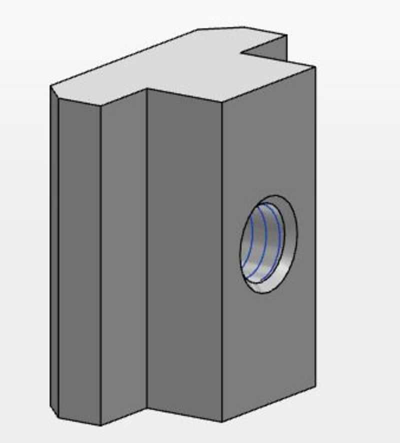MCS T-Nutenblock (SLOT10)
