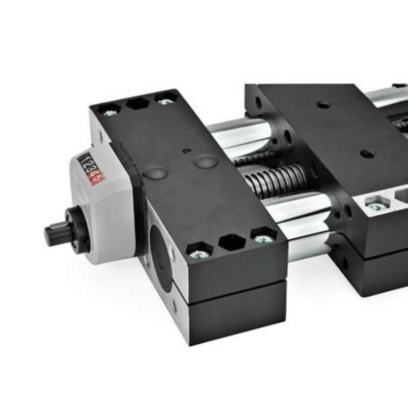 Montage-Sets für Stellungsanzeiger an Doppelrohr-Lineareinheiten GN 491 / GN 492