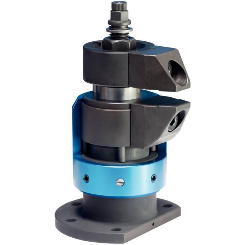 Schwimmspanner, kompakte Bauform, getrennte Spannung und Verblockung M 12