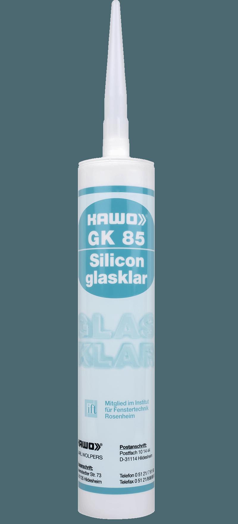 KAWO GK 85, glasklar, 310 ml
