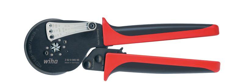 Wiha Crimpwerkzeug automatisch für Aderendhülsen Sechskant-Pressung