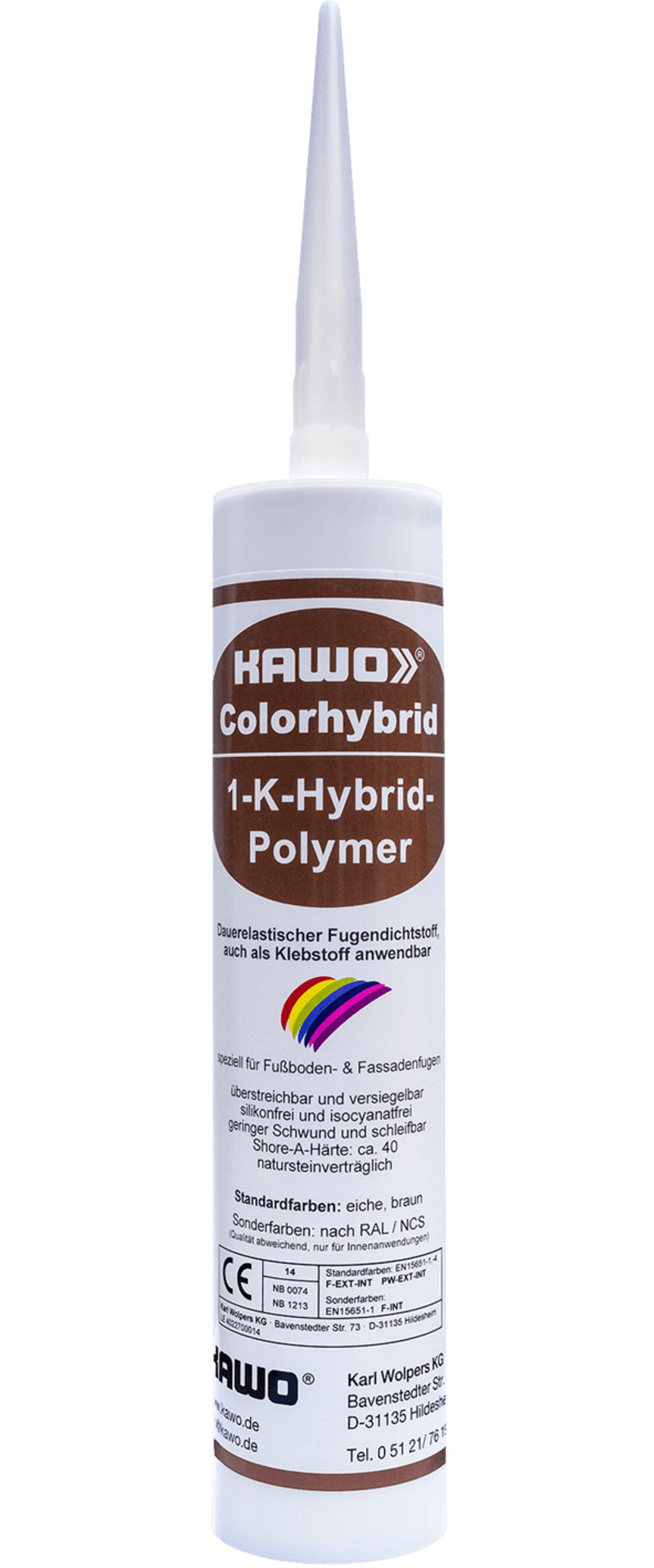 KAWO Colorhybrid, weiß, 300 ml