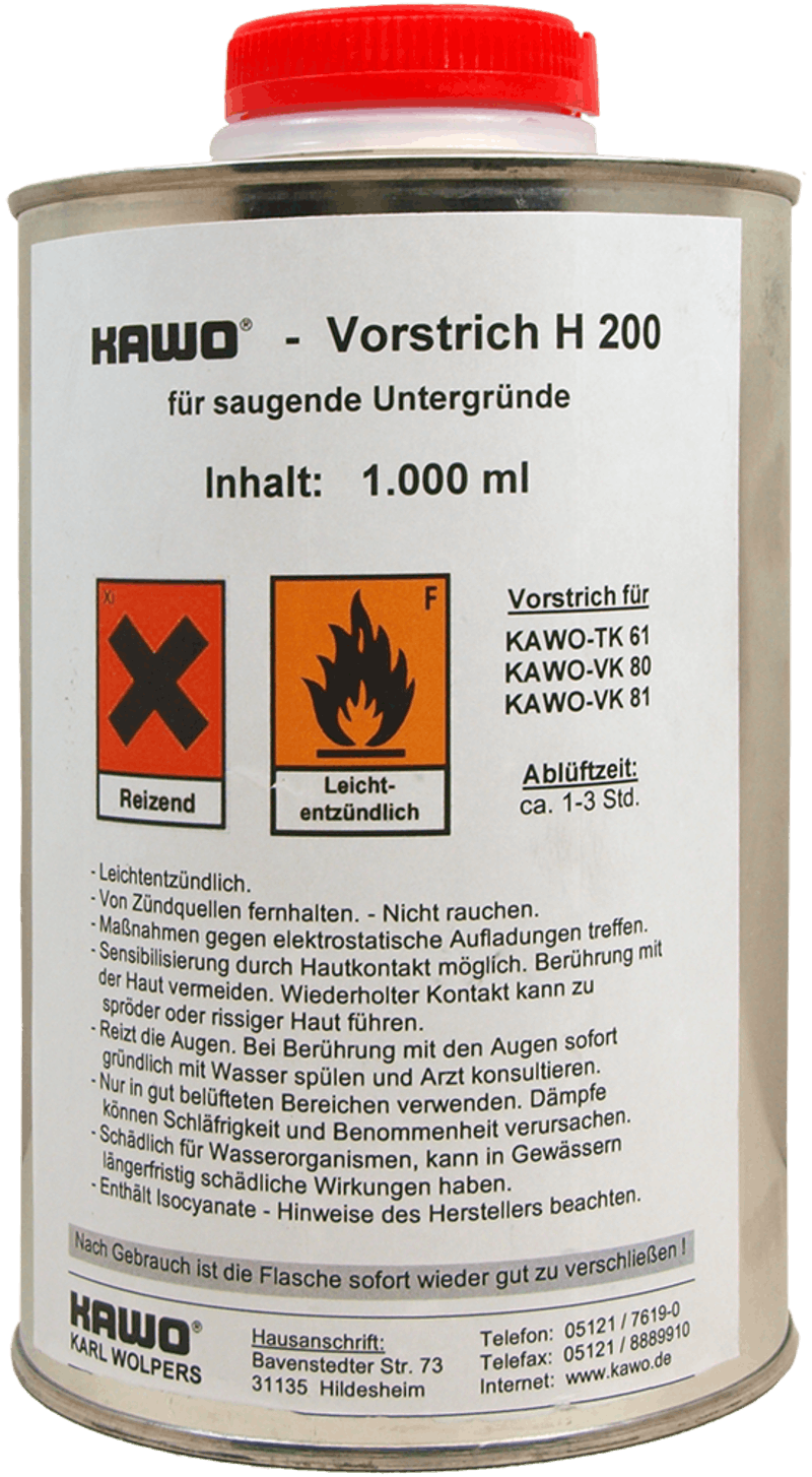 KAWO Vorstrich H 200, 1.000 ml