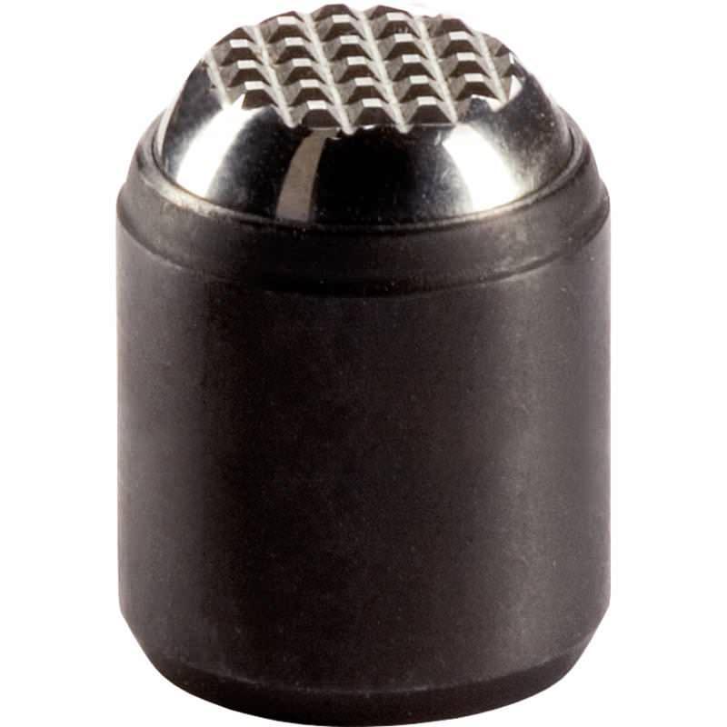 Pendelauflagen, mit selbsttätiger Rückstellung, für Passungsaufnahme, Kugel abgeflacht, Auflagefläche geriffelt, Stahl