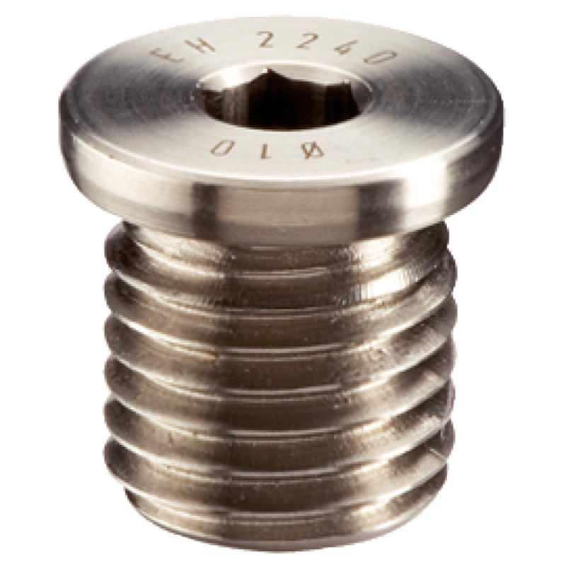 Aufnahmebuchsen, für Kugelsperrbolzen und Steckbolzen, mit Innensechskant