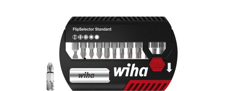 """Wiha Bit Set FlipSelector Standard 25 mm gemischt 13-tlg. 1/4"""""""