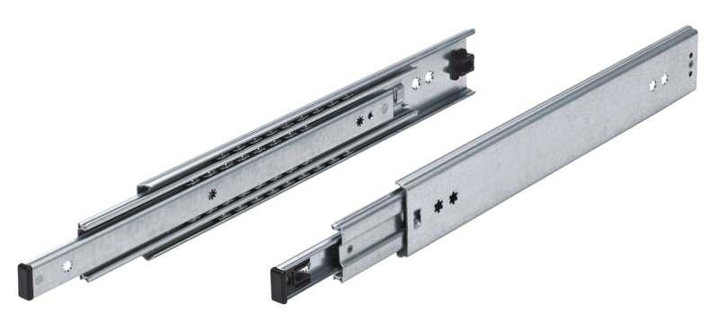 Vollauszug Serie 037, 1100mm lange Schiene