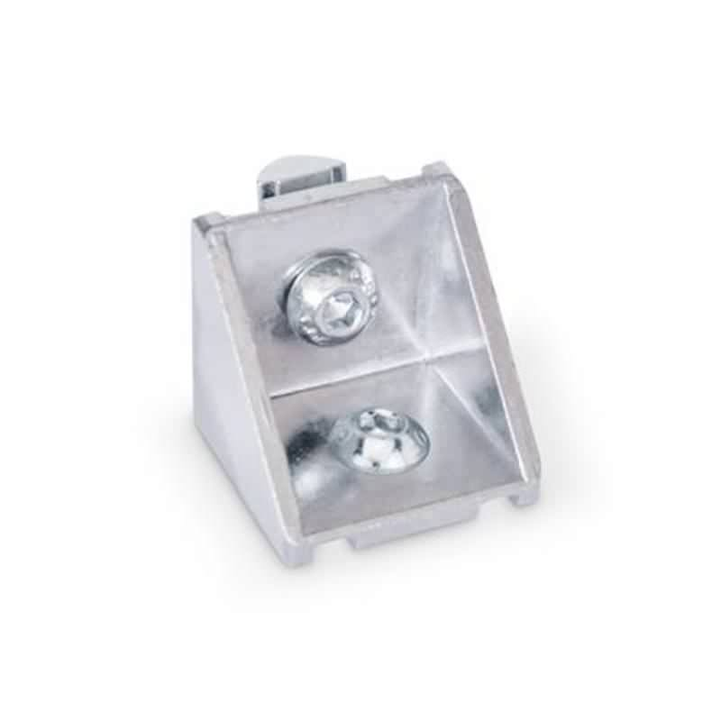Winkel für Profilsysteme 30 / 40, Aluminium