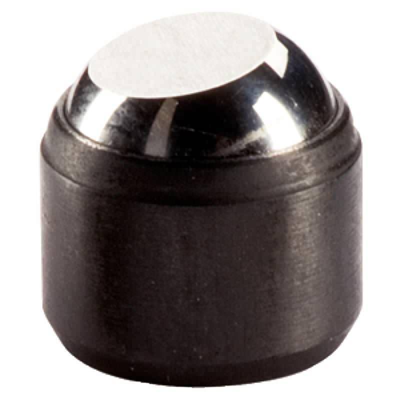 Pendelauflagen, für Passungsaufnahme, Kugel abgeflacht, Auflagefläche plan, Stahl