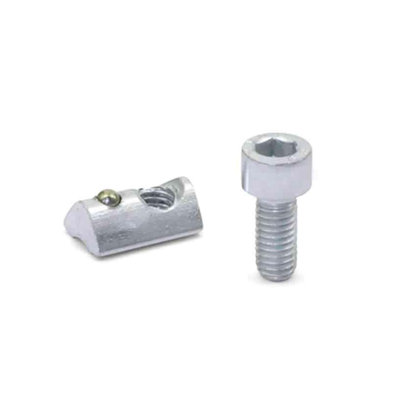 Montagesets für Profilsysteme 30 / 40 mit Zylinderschraube DIN 7984 (Nutbreite 6 / 8)