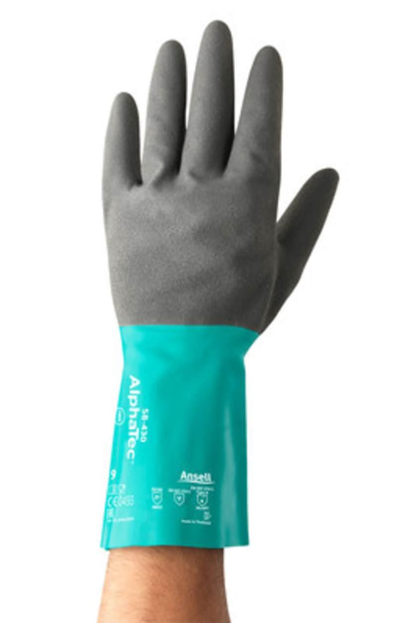 Öl-Schutzhandschuh AlphaTec® 58-430