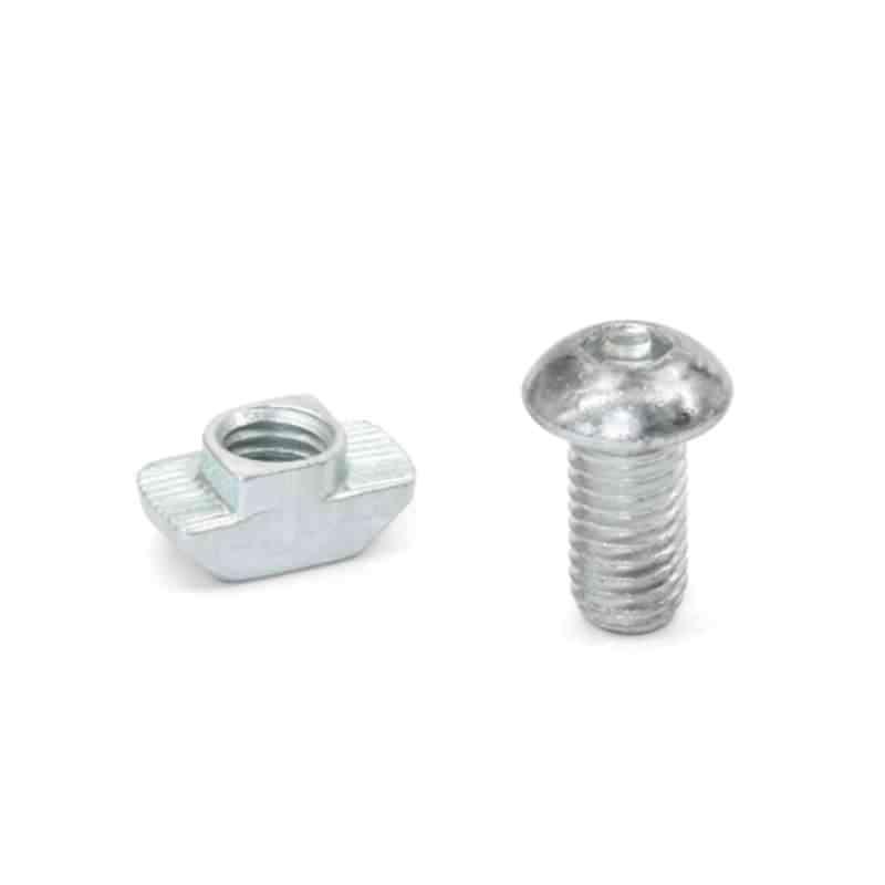 Montagesets für Profilsysteme 30 / 40 / 45, mit  Zylinderschraube DIN 7984