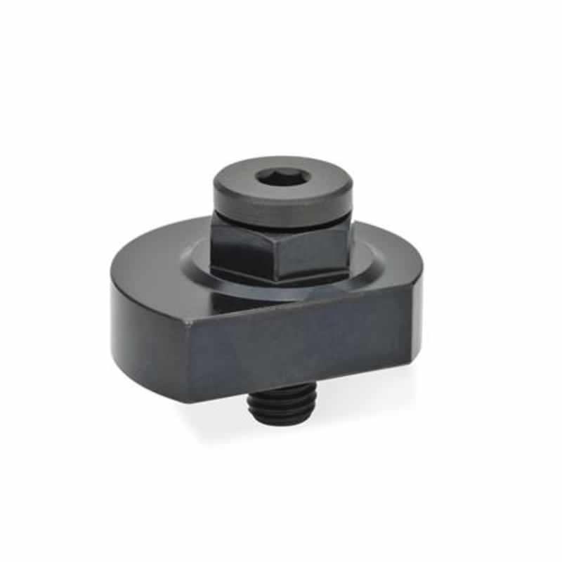 Spiralexzenter mit Sechskant, Klemmung radial, Stahl