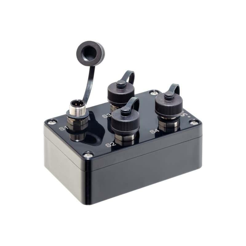 Funk-Sender, für Abfrageeinheit, Funk-Universalsender mit Schutzkappen