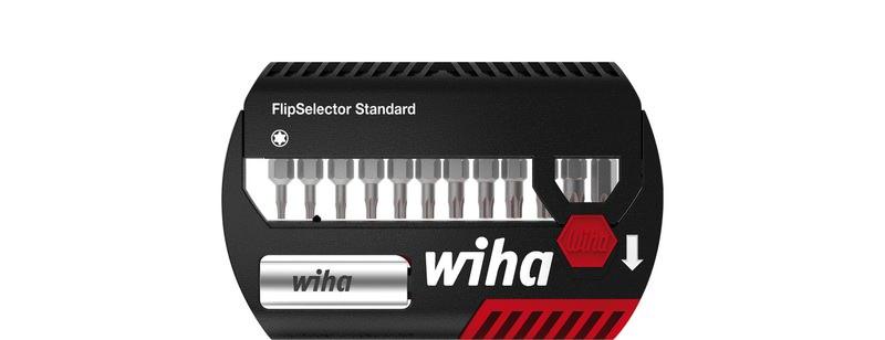 "Wiha Bit Set FlipSelector Standard 25 mm TORX® 13-tlg. 1/4"""