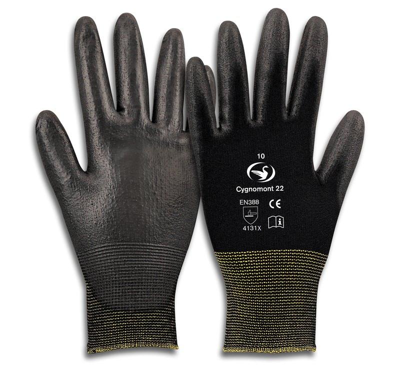 Montage-Feinstrick-Handschuh Cygnomont 22