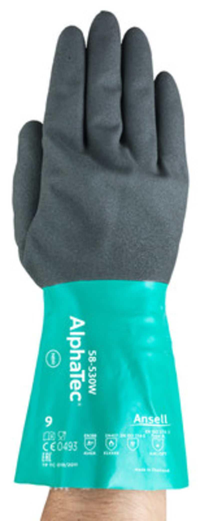 Chemikalien-Schutzhandschuh AlphaTec® 58-530