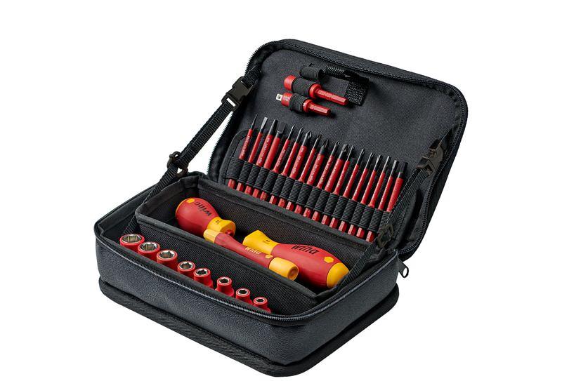 Wiha Werkzeug Set slimVario® electric gemischt 31-tlg. in Funktionstasche