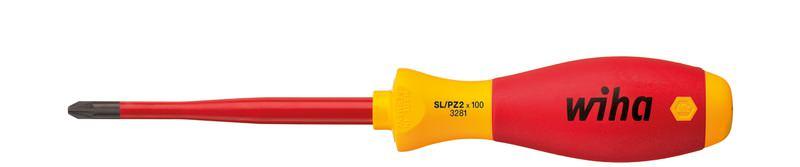 Wiha Schraubendreher SoftFinish® electric slimFix PlusMinus/Pozidriv