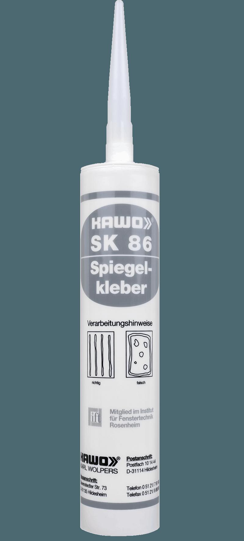 KAWO SK 86, weiß, 310 ml