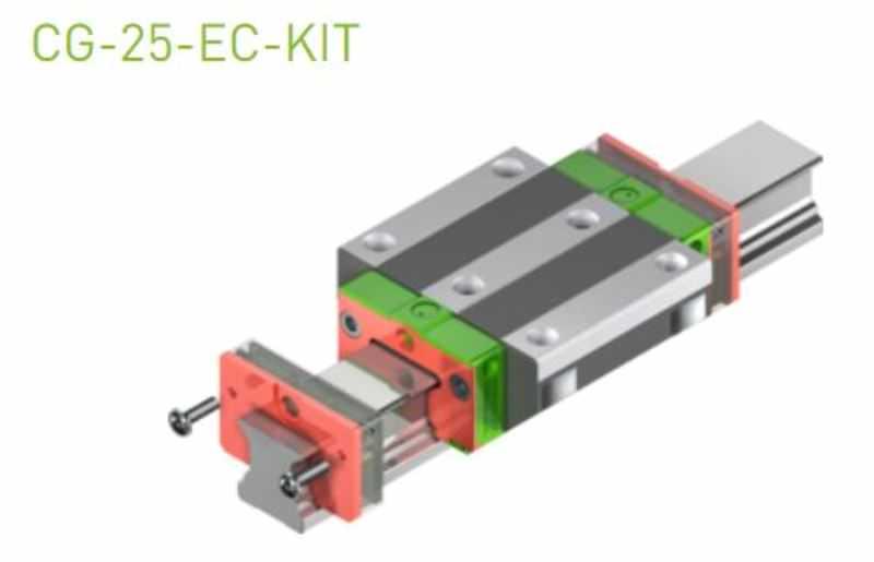 EC-Set für 25er Laufwagen SS/SW ohne Abdeckband & Standard-Öl