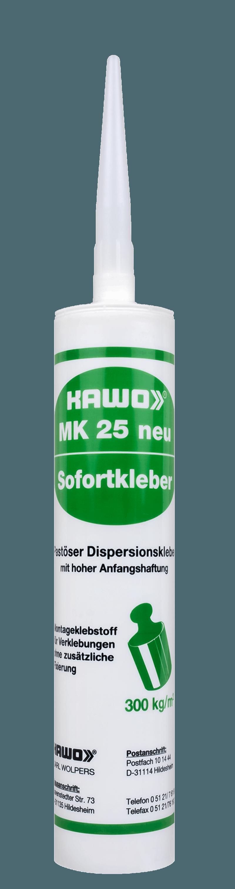 MK 25 NEU, weiß, 310 ml
