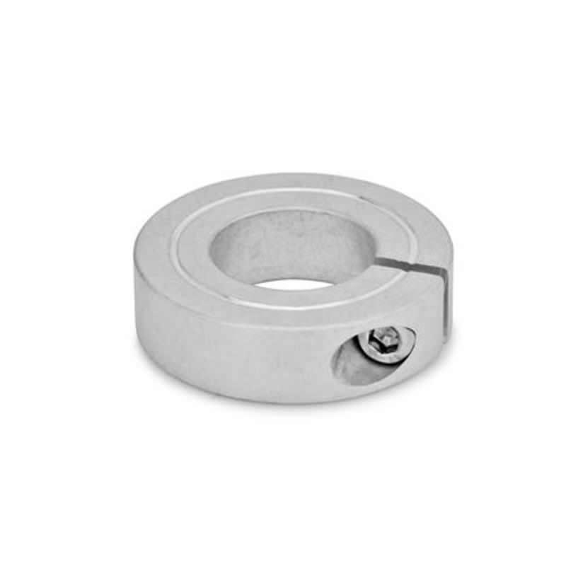 Geschlitzte Stellringe, Aluminium