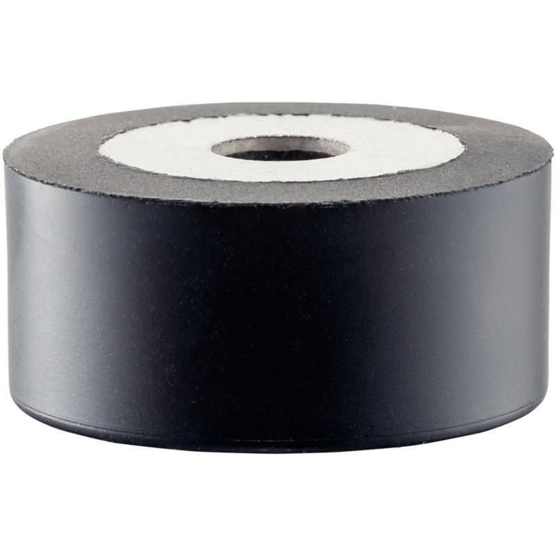 Gummi-Anschlagpuffer, zylindrisch, Frontmontage