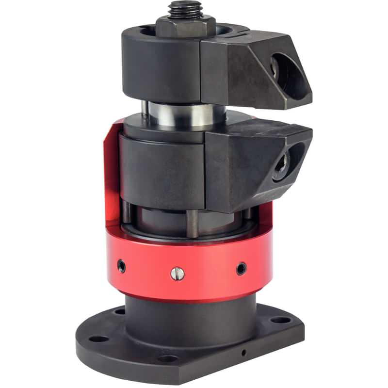 Schwimmspanner, kompakte Bauform, kombinierte Spannung und Verblockung M 12