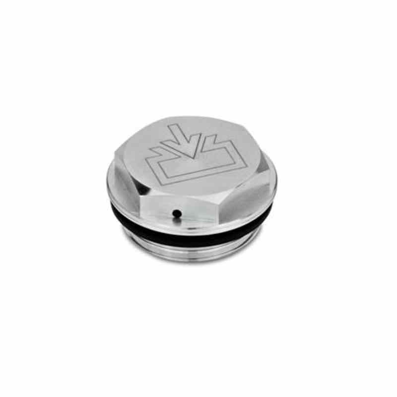 Verschlussschrauben mit und ohne Symbol, Aluminium, beständig bis 100 °C, blank