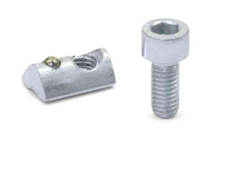 Montagesets für Profilsysteme 30 / 40 mit Senkschraube DIN 7991 (Nutbreite 6 / 8)