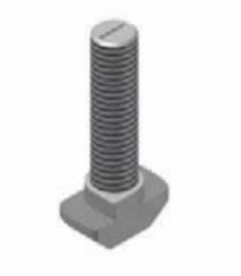 Hammerkopfschraube für Nut 10mm, hohe Form, Stahl, verzinkt