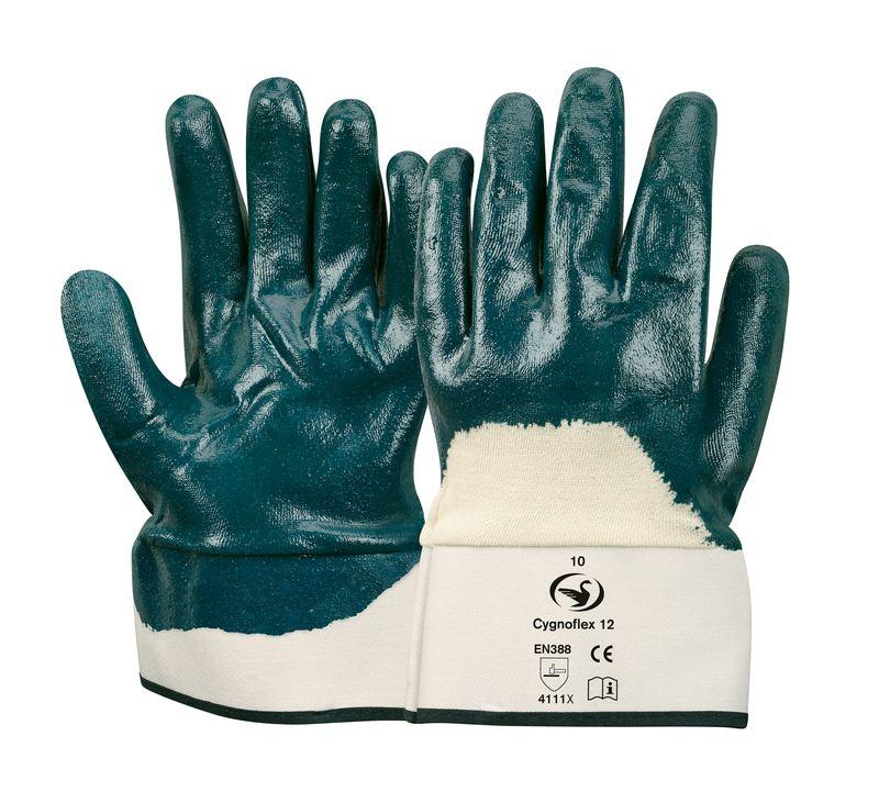 Nitril-Handschuh Cygnoflex 12